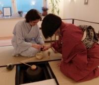 Unterricht im Haus der Teemeisterin